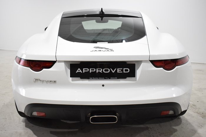 2018 Jaguar F-TYPE 221kW X152 MY19.5 White