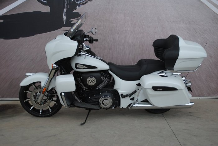 2020 Indian ROADMASTER DARKHORSE TH/ST 116 White