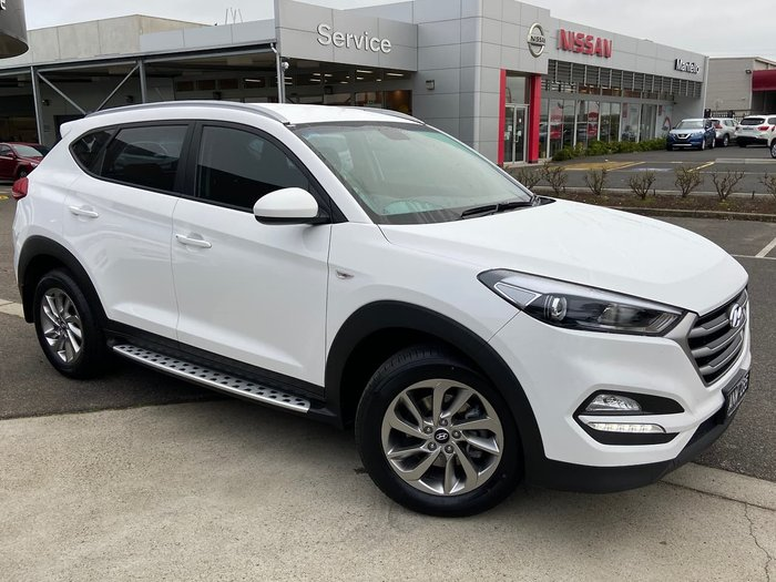 2017 Hyundai Tucson Active TL2 MY18 White