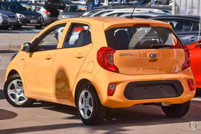 2020 Kia Picanto S JA MY20 Yellow
