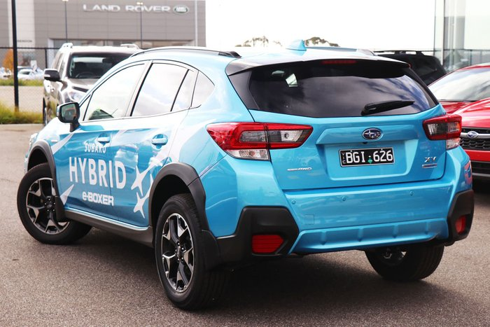 2020 Subaru XV Hybrid G5X MY20 Four Wheel Drive Blue