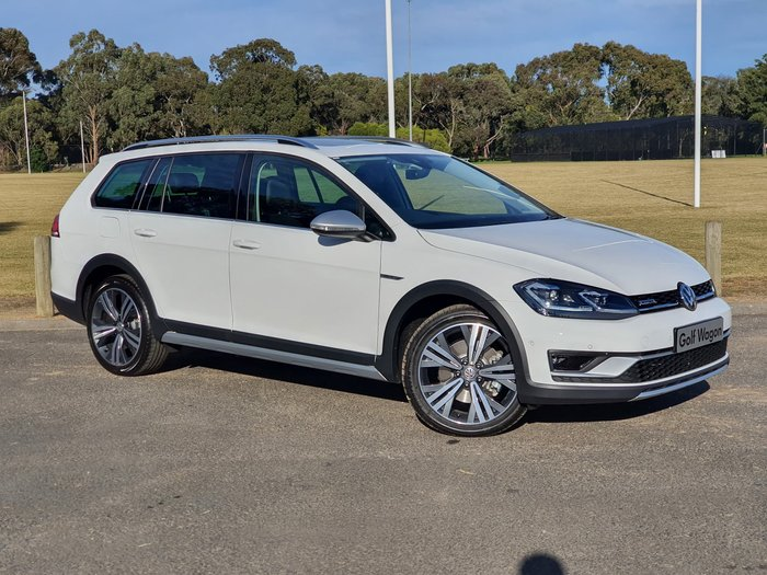 2020 Volkswagen Golf Alltrack 132TSI Premium 7.5 MY20 Four Wheel Drive White