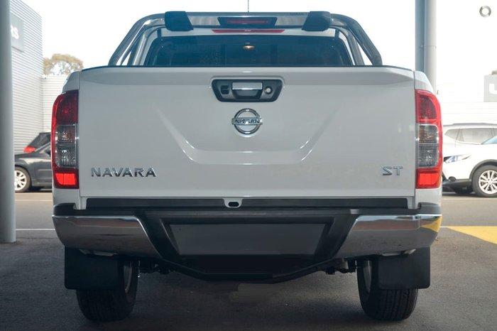 2019 Nissan Navara ST D23 Series 3 White