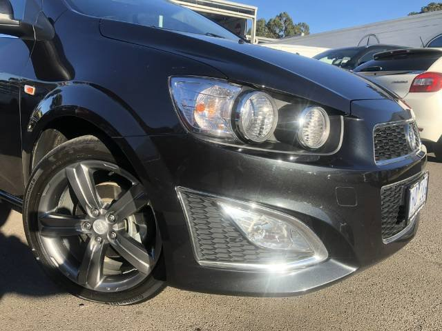2016 Holden Barina RS TM MY16 BLACK