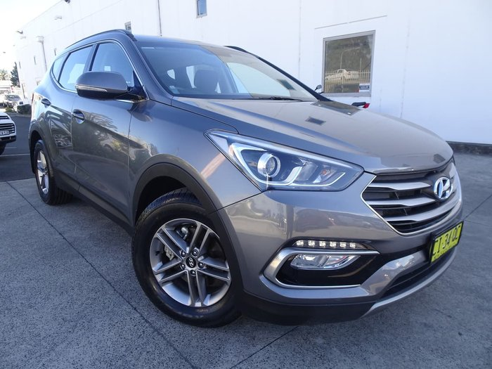 2016 Hyundai Santa Fe Active DM3 Series II MY16 4X4 On Demand Grey