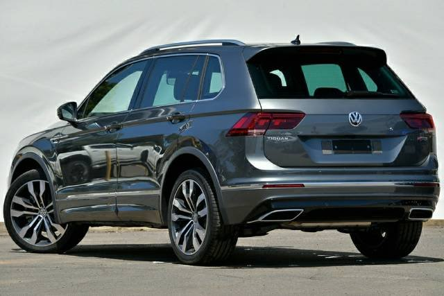 2020 Volkswagen Tiguan 162TSI Highline 5N MY20 Four Wheel Drive INDIUM GREY