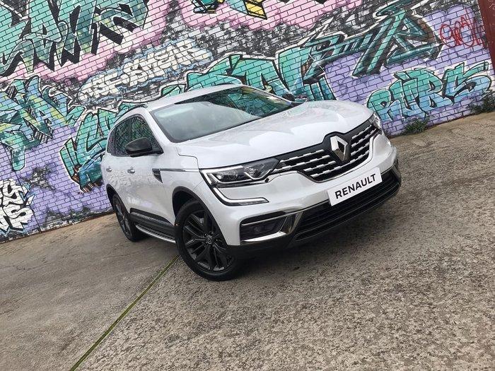 2020 Renault Koleos Black Edition HZG MY20 White