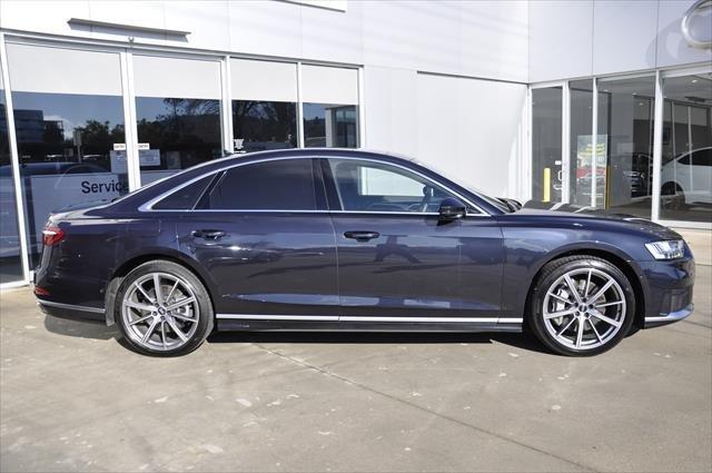 2018 Audi A8 55 TFSI D5 MY19 Four Wheel Drive Moonlight Blue metallic