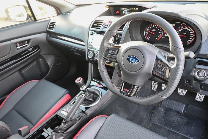 2020 Subaru WRX STI Premium V1 MY20 Four Wheel Drive White