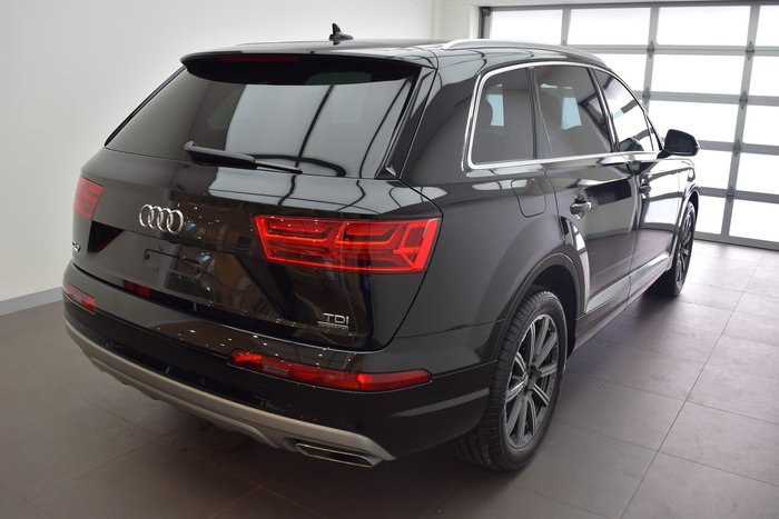 2015 Audi Q7 TDI 4M MY16 Four Wheel Drive Black