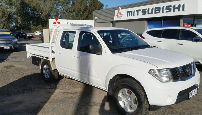 2010 NISSAN NAVARA RX D40 Turbo WHITE