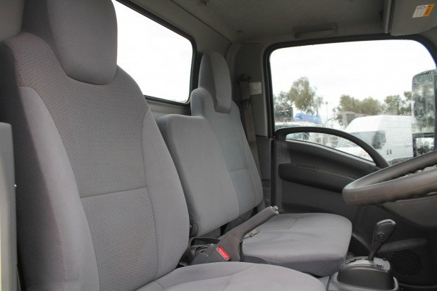 2017 Isuzu NLR 45-150 AMT SWB Cab Chassis LOW KMS White