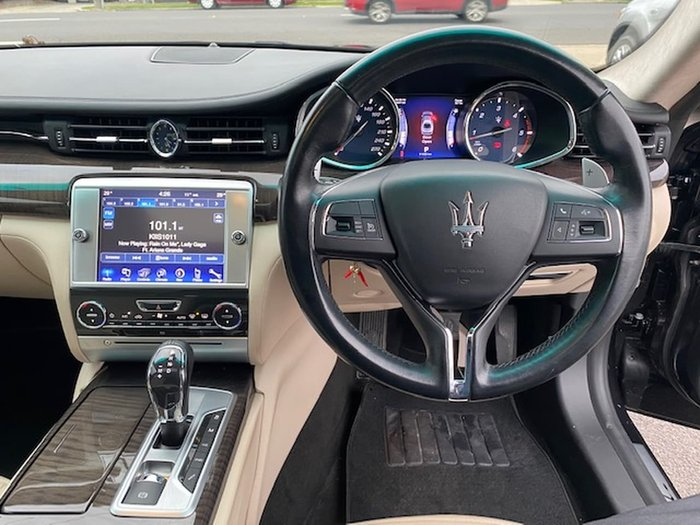 2015 Maserati Quattroporte S M156 MY15 Black