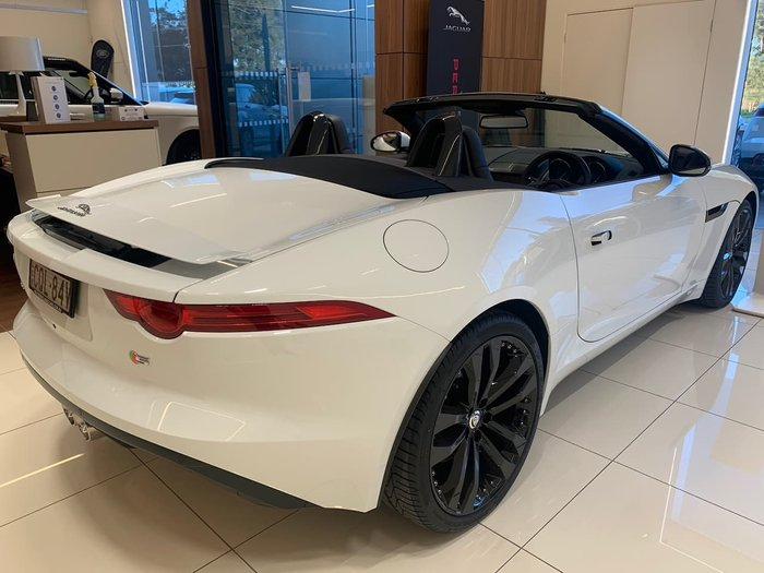2013 Jaguar F-TYPE S X152 MY14 White