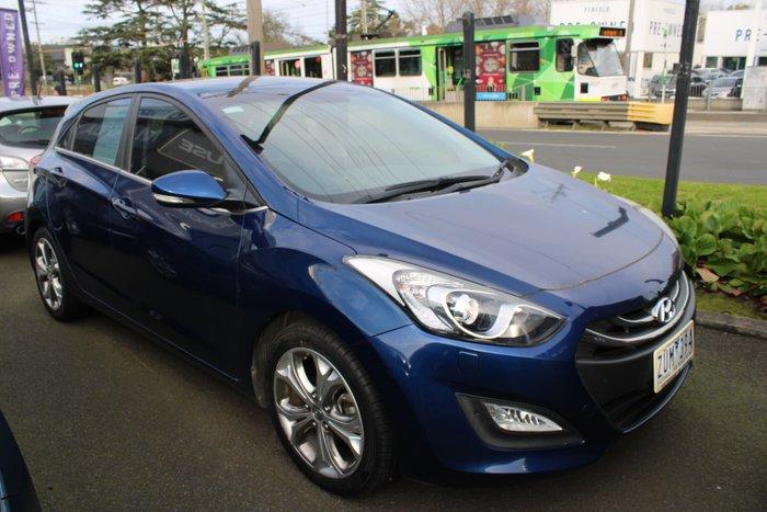 2013 Hyundai i30 Premium GD Blue
