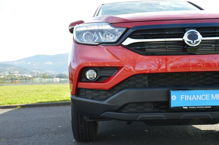 2019 SsangYong Musso ELX Q201 MY20 4X4 Dual Range INDIAN RED