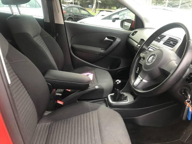 2014 Volkswagen Polo 77TSI Comfortline 6R MY14 FLASH RED