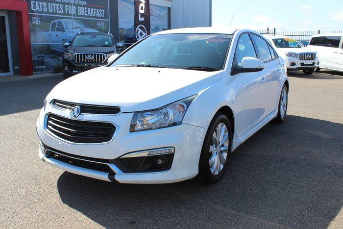2015 Holden Cruze SRi JH Series II MY15 White
