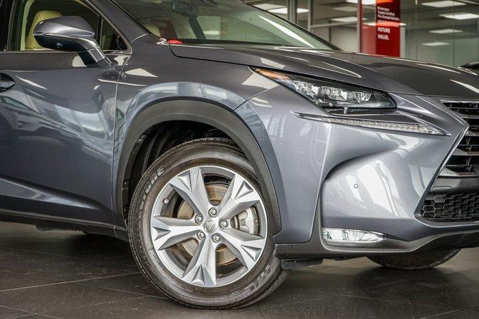 2015 Lexus NX NX200t Sports Luxury AGZ15R 4X4 On Demand Grey