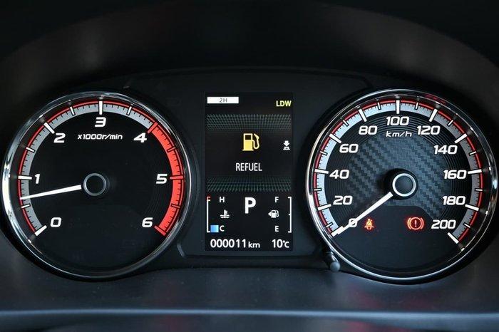 2020 Mitsubishi Triton GLS Premium MR MY20 4X4 Dual Range Grey