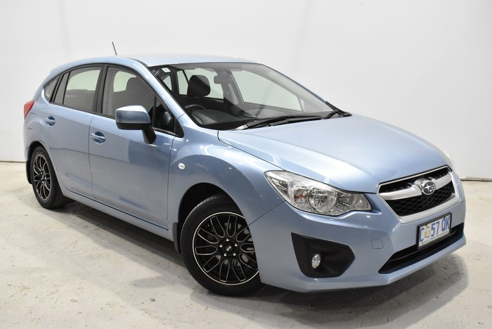 2012 Subaru Impreza 2.0i G4 MY12 Four Wheel Drive Blue