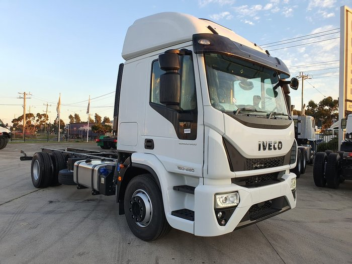 2020 IVECO ML160E28 E6 HIGH ROOF SLEEPER CAB AUTO null null white