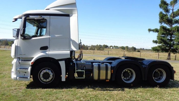 2019 MERCEDES-BENZ ACTROS PURE 2646 null null White