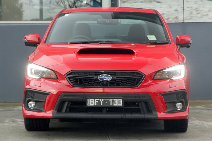 2020 Subaru WRX Premium V1 MY20 Four Wheel Drive Red