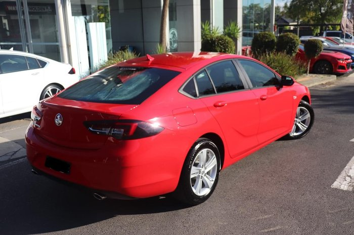 2018 Holden Commodore LT ZB MY18 Red