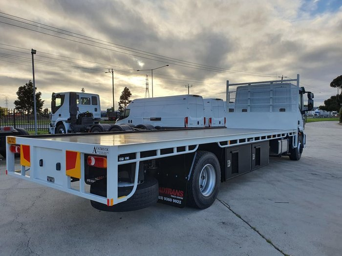 2020 IVECO ML160 EEV SLEEPER CAB MANUAL WITH STEEL TRAY null null white