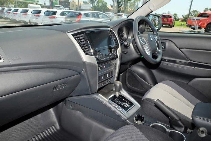 2020 Mitsubishi Triton GLX+ MR MY20 4X4 Dual Range White