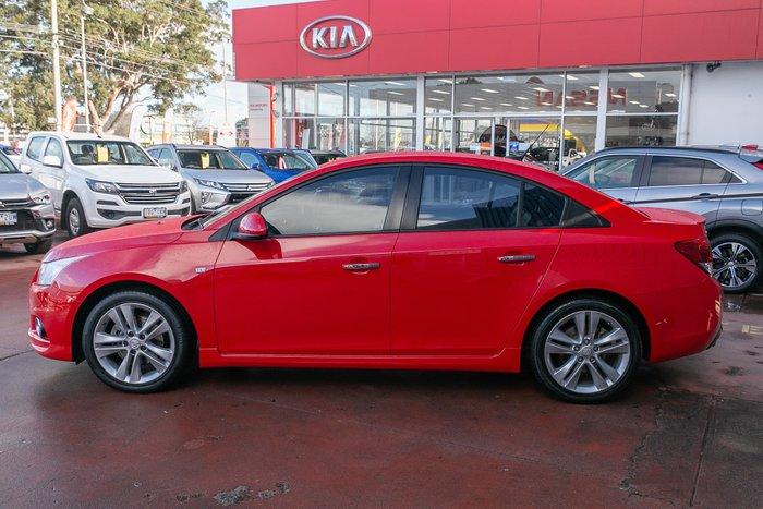 2013 Holden Cruze SRi-V JH Series II MY14 Red