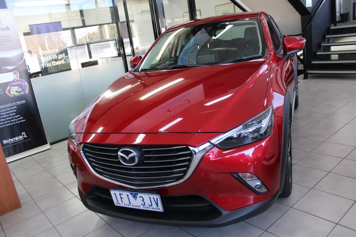 2015 Mazda CX-3 Akari DK 4X4 On Demand Red
