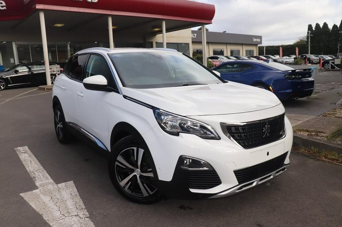2019 Peugeot 3008 Allure P84 MY19 White