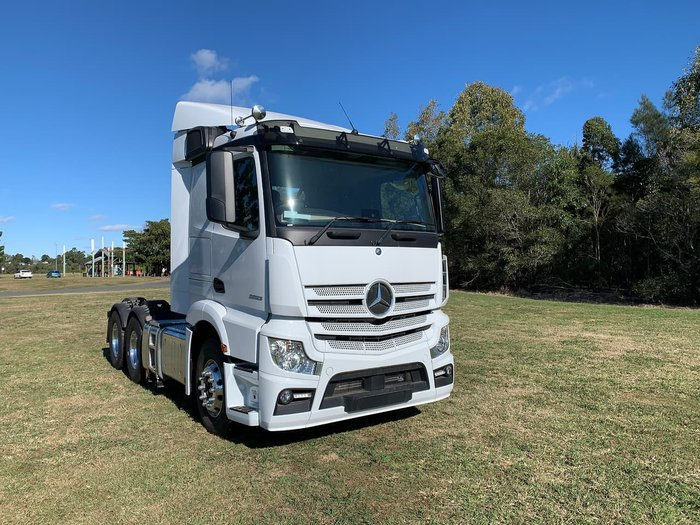 2019 MERCEDES-BENZ ACTROS 2653 null null White