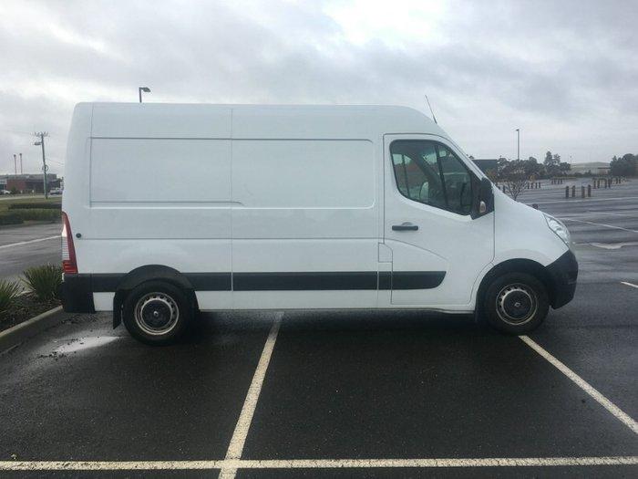 2019 Renault Master MID ROOF MEDIUM WHEE X62 WHITE MWB AUTO