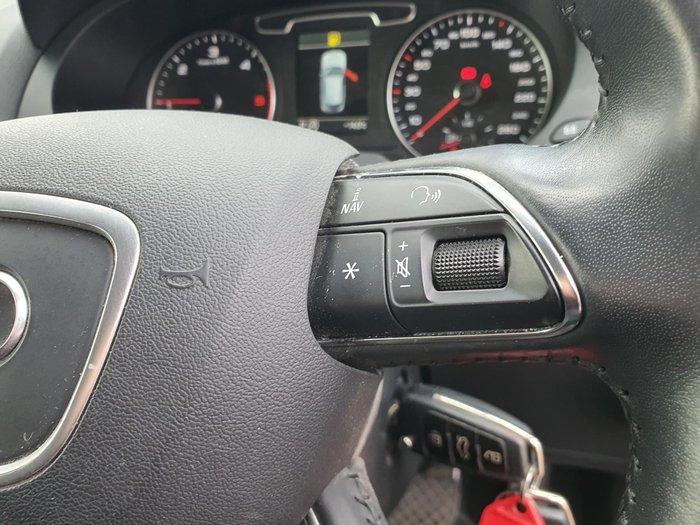 2014 Audi Q3 TDI 8U MY14 Four Wheel Drive Red