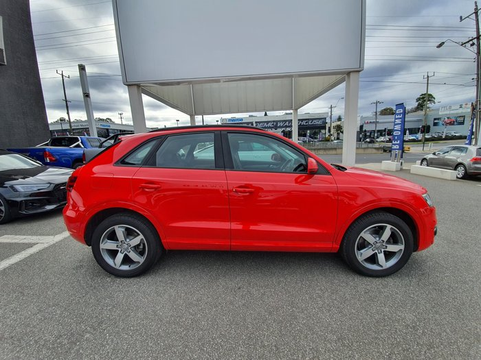 2014 Audi Q3 TDI 8U MY14 Four Wheel Drive Red