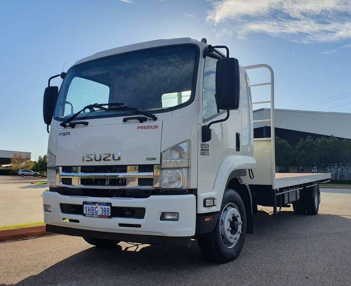 2014 ISUZU FSR 850 SERIES III WHITE