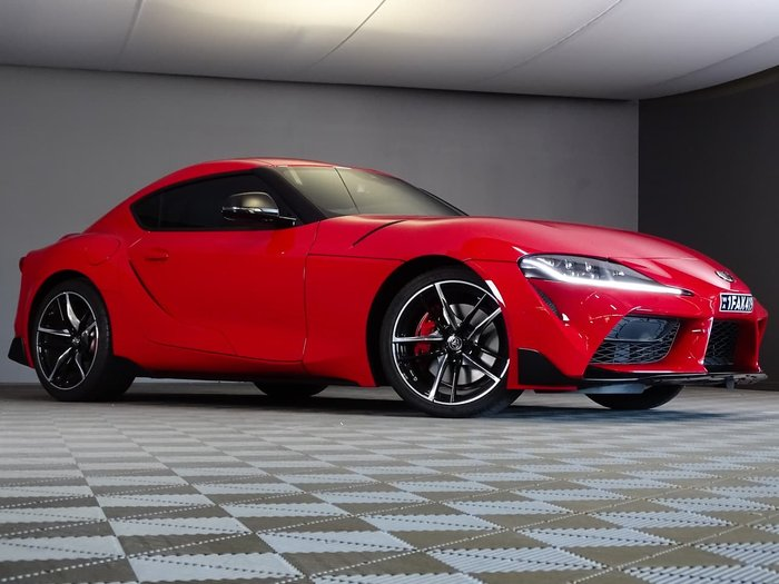 2019 Toyota Supra GR GTS A90 Red