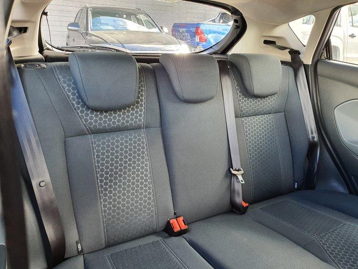 2011 Ford Fiesta Zetec WS Silver
