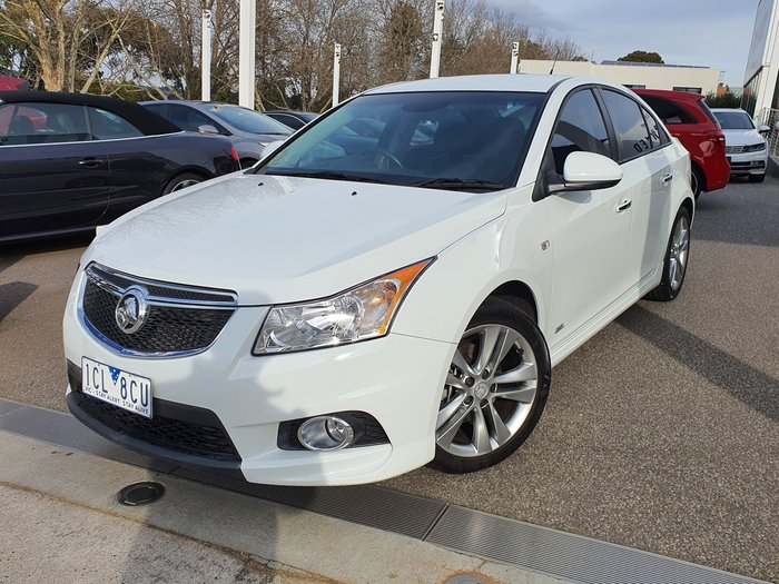 2014 Holden Cruze SRi Z Series JH Series II MY14 White