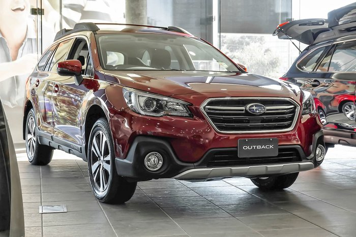 2019 Subaru Outback 2.5i 5GEN MY19 Four Wheel Drive Red