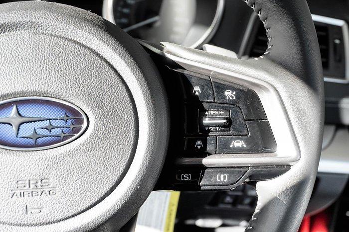 2019 Subaru Outback 2.5i 5GEN MY19 Four Wheel Drive Red