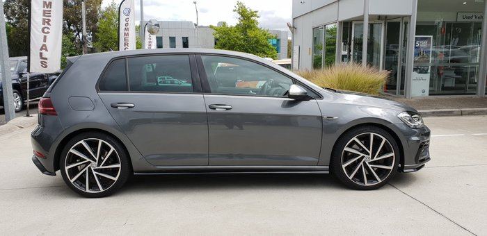 2020 Volkswagen Golf R 7.5 MY20 Four Wheel Drive Indium Grey