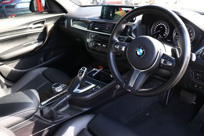 2018 BMW 1 Series 125i M Sport F20 LCI-2 Black