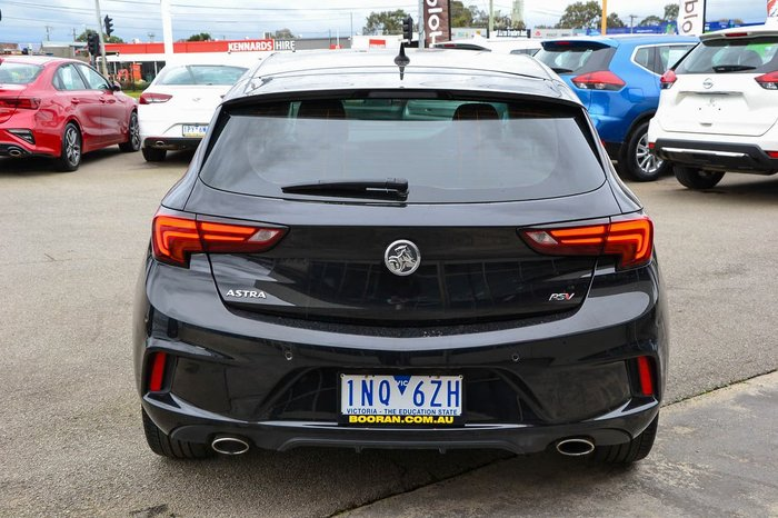 2017 Holden Astra RS-V BK MY17 Black