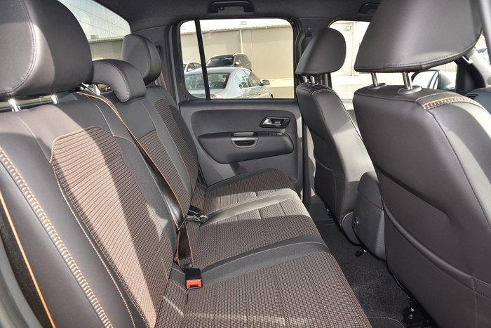 2020 Volkswagen Amarok TDI550 Canyon 2H MY20 4X4 Constant Grey