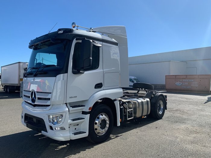 2019 MERCEDES-BENZ ACTROS 1846 null null White