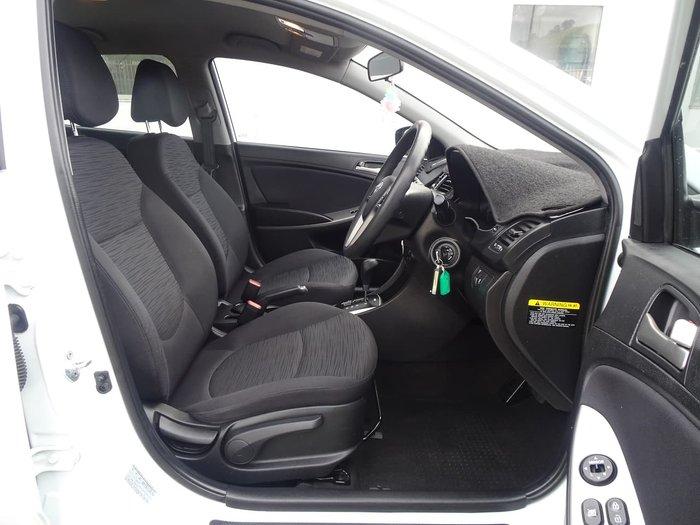 2015 Hyundai Accent Active RB3 MY16 White